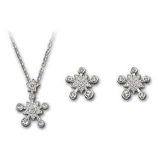 Mady Silver Rhodium-plated Austrian Crystal Pierced Earrings and Necklace Set|https://ak1.ostkcdn.com/images/products/11665837/P18595137.jpg?impolicy=medium