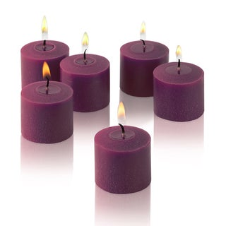 Purple Unscented Votive Candles (Set of 288)