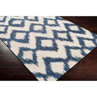 Hand Woven Cleveland Wool Area Rug - 5' x 8'