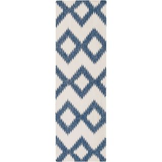 Hand Woven Cleveland Wool Rug (2'6 x 8')