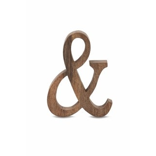 Unique Wooden Letter Ampersand