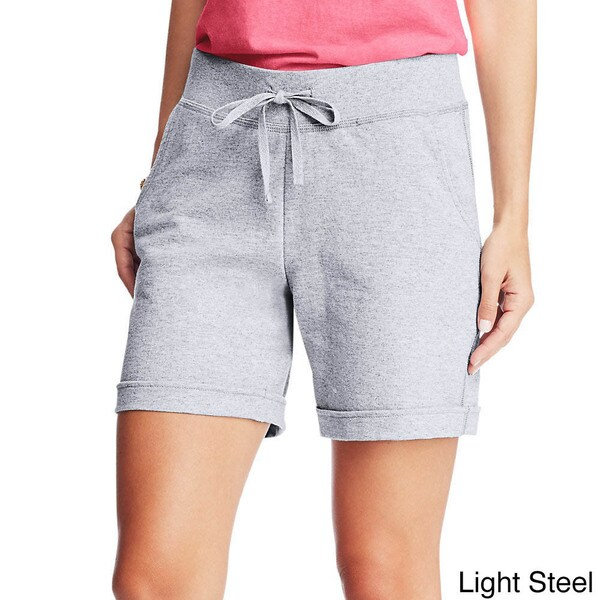 Hanes Womens X-Temp French Terry Short