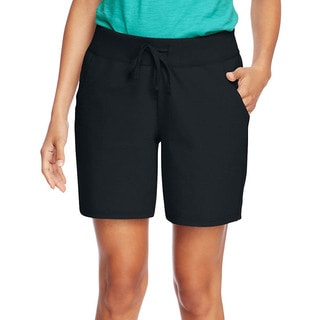 Hanes Women's Jersey Pocket Short