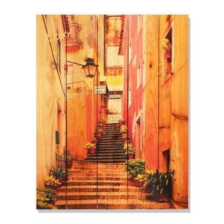 Artist Alley 28x36 Indoor/ Outdoor Full Color Cedar Wall Art
