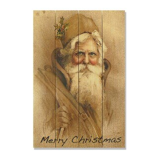 Merry Christmas 14x20 Wile E. Wood Indoor/ Outdoor Full Color Cedar Wall Art