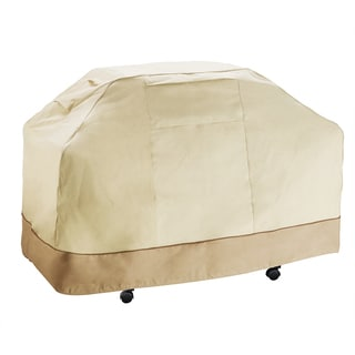 Villacera High Quality Grill Cover Beige and Brown Extra Large