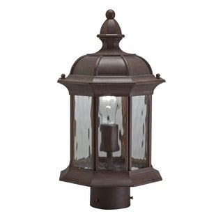 Kichler Lighting Traditional 1-light Olde Brick Outdoor Post Lantern