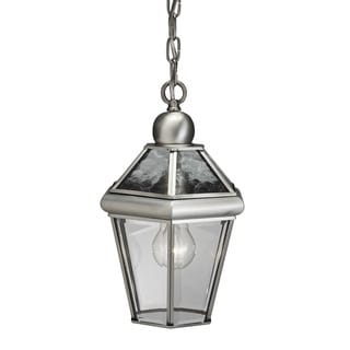 Kichler Lighting Transitional 1-light Antique Pewter Outdoor Hanging Lantern
