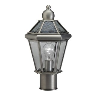 Kichler Lighting Transitional 1-light Antique Pewter Outdoor Post Lantern