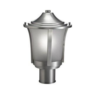 Kichler Lighting Transitional 1-light Brushed Aluminum Outdoor Post Lantern