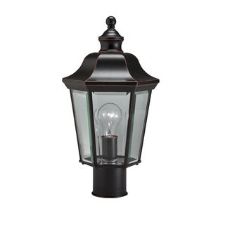 Kichler Lighting Transitional 1-light Olde Copper Outdoor Post Lantern