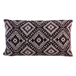 Jacquard Cotton Lumbar Pillow (India)