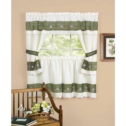Achim Berkshire Window Curtain Cottage Set