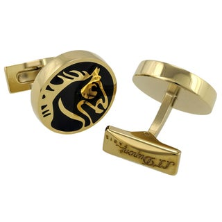 S.T. Dupont Limited Edition Yellow Goldplated Cufflinks