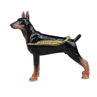Doberman Pinscher Dog Trinket Box