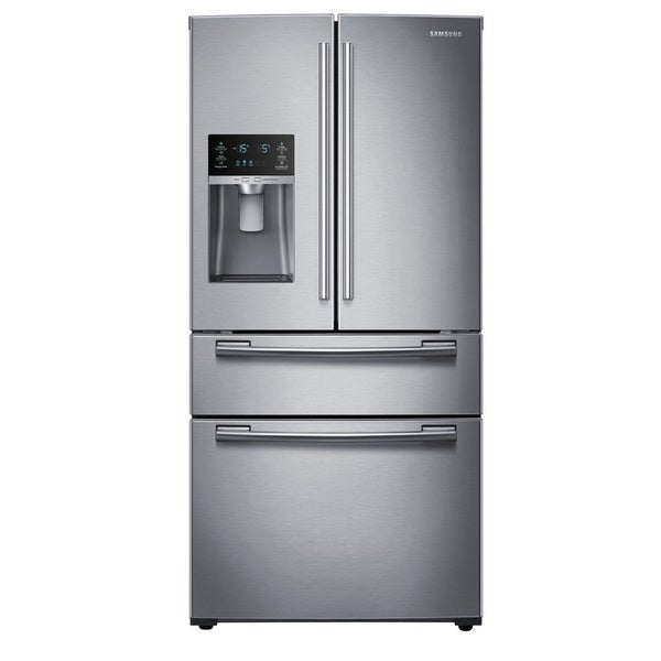 Stand Alone Refrigerator And Freezer Samsung 33 Inch French Door Refrigerator - Free Shipping ...