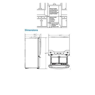 Samsung 30-inch French Door Refrigerator