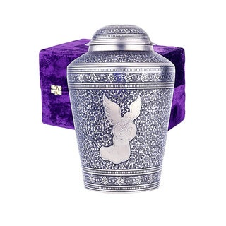 Star Legacy Angel Brass Cremation Urn