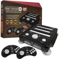 HYPERKIN SNES/ Genesis/ NES RetroN 3 Gaming Console 2.4 GHz Edition (