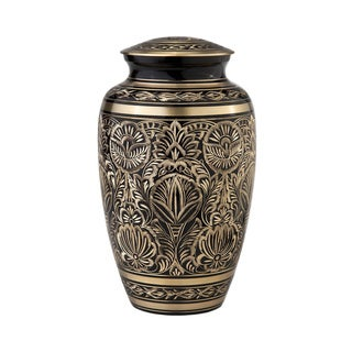 Star Legacy Classic Radiance Brass Cremation Urn 3-piece Set