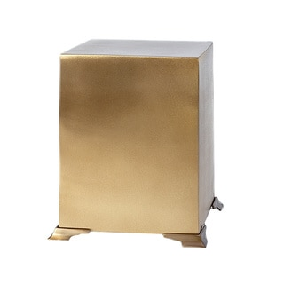Star Legacy Simplicity Cube Brass Cremation Urn