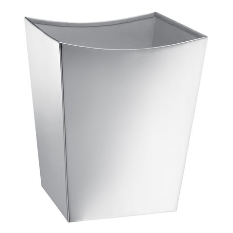Kraftware Monaco Brushed Waste Basket