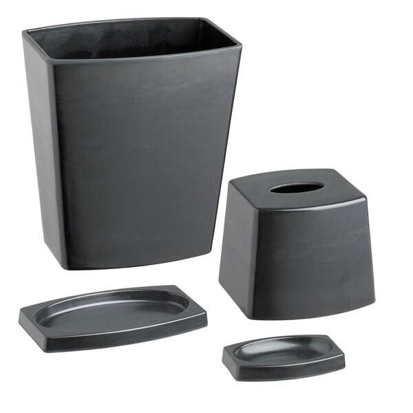 Kraftware My Earth Black 4-piece Bathroom Set