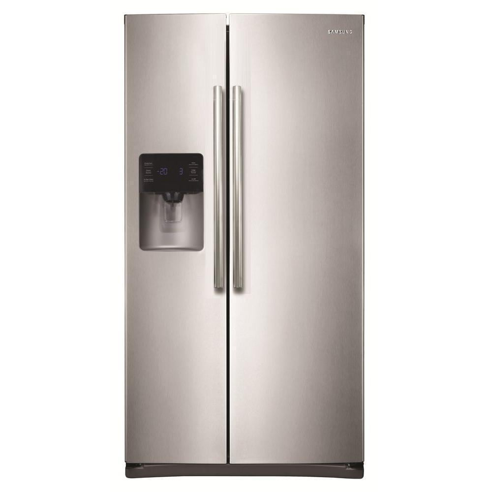 Samsung 36-inch Side by Side Refrigerator (Stainless Stee...
