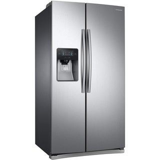 Samsung  36-inch Side by Side Refrigerator (Stainless Steel)