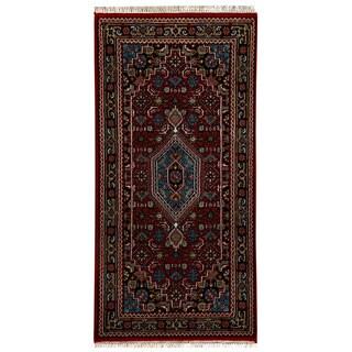 """Handmade Bidjar Wool Rug (India) - 2'6"""" x 4'8"""""""
