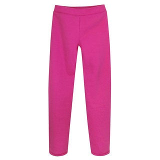 Hanes Girls' Fleece Open Bottom Sweatpants