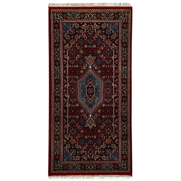 Shop Handmade Herat Oriental Indo Bidjar Wool Rug (India