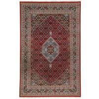 Handmade Herat Oriental Indo Bidjar Wool Rug (India) - 8'3 x 11'6
