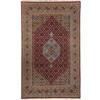 Handmade Herat Oriental Indo Bidjar Wool Rug (India) - 7'10 x 8'6