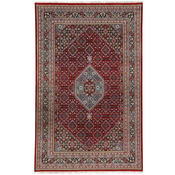 Handmade Bidjar Wool Rug (India) - 6'9 x 10'