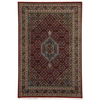 "Handmade One-of-a-Kind Bidjar Wool Rug (India) - 5'10"" x 8'2"""