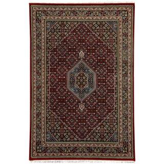 Herat Oriental Indo Hand-knotted Bidjar Wool Rug (5'10 x 8'2)