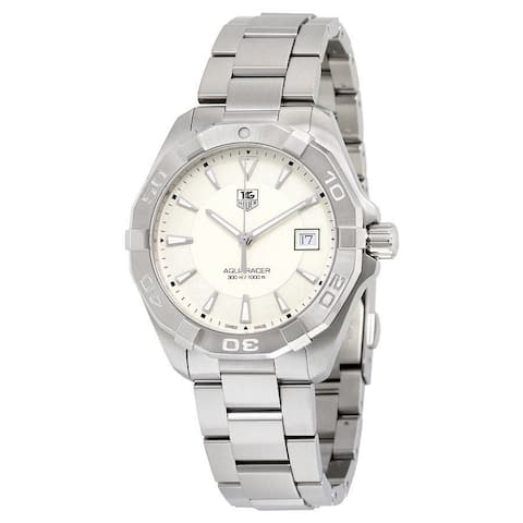 Tag Heuer Men's WAY1111.BA0928 'Aquaracer' Stainless Steel Watch