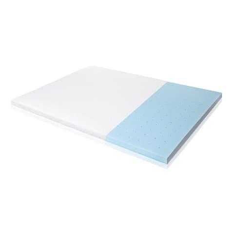 ISOLUS Ventilated 2.5-inch Gel Memory Foam Mattress Topper
