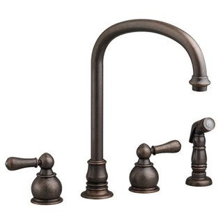 Hampton 2-Handle High-Arc Kitchen Faucet with Separate Side Spray 4751.732.224