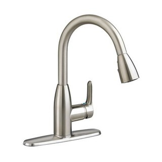 American Standard Colony Soft 1 Handle High Arc Pull Down Kitchen Faucet 4175.300.075