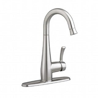 American Standard Quince 1-Handle Pull Down High Arc Bar Faucet 4433.410.075