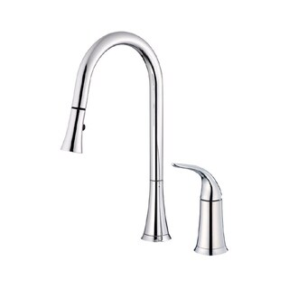 Danze Antioch Widespread Kitchen Faucet D459022 Polished Chrome