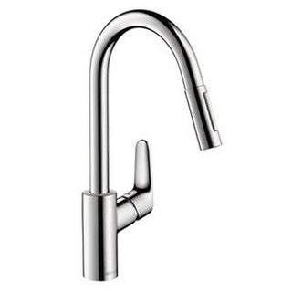 Hansgrohe Focus Single Hole Kitchen Faucet 31815801 Steel Optik