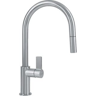 Franke Ambient Single Hole Kitchen Faucet FFP3180 Satin Nickel