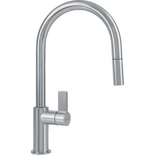 Franke Ambient Single Hole Kitchen Faucet FFP3180 Satin Nickel