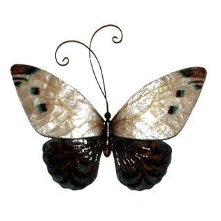 White and Blue Butterfly Metal Art (Philippines)