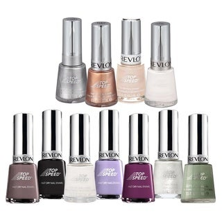 Revlon Top Speed 11-piece Nail Polish Set