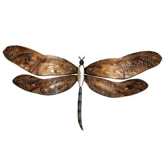 Earthtoned Dragonfly Metal Art (Philippines)