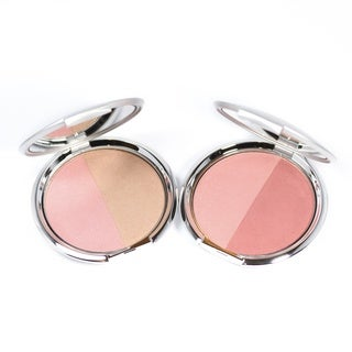 Kirkland Borghese Sheer Satin Blush Duo Set